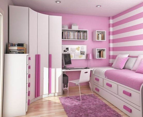 stylish & romantic pink paint ideas for girl bedroom | home interiors