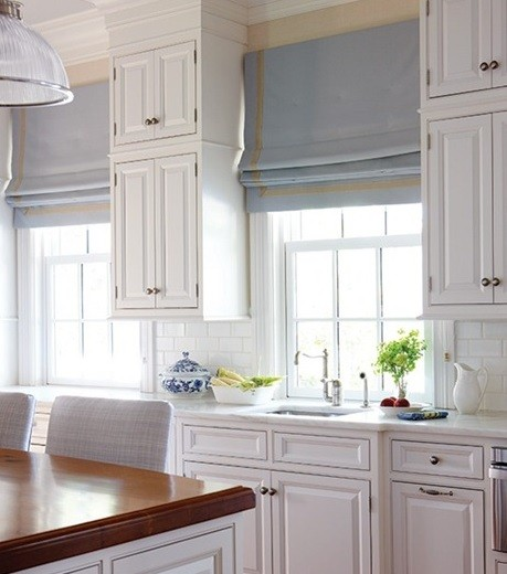 Roman Blinds Modern Kitchen Curtains