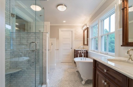 Bathroom Ceiling Light Fixtures     The Advantages and Choosing Tips     Flush mount bathroom ceiling light fixtures