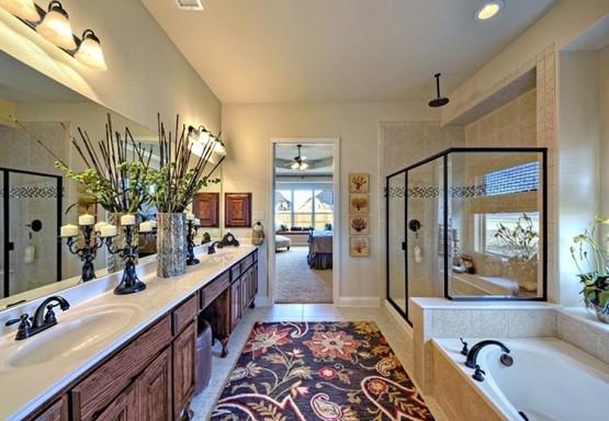 Black Fl Pattern Large Bathroom Rugs Designbathroom rugs large Bathroom  Design - Large Bathroom Rugs. - Floral Bathroom Rugs IRA Design