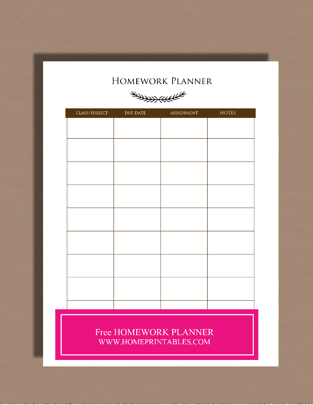 Free to Print Student Binder - Home Printables