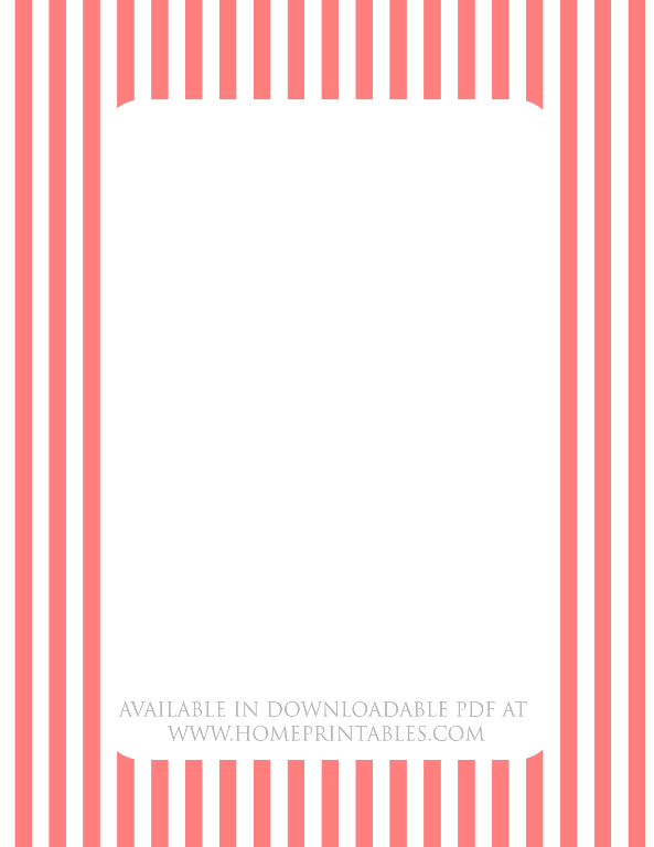 graphic relating to Free Printable Stationary Pdf identified as cost-free border for printable stationery stripes - House Printables