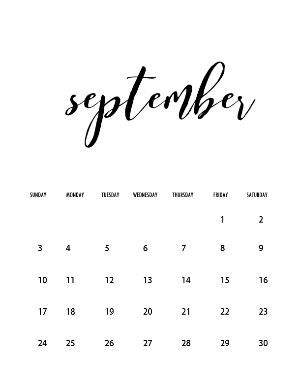 CALENDAR PRINTABLE WITH HOLIDAYS, LETTER …