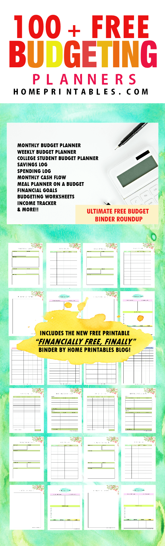 image regarding Free Printable Budget Binder Worksheets named 100+ No cost Spending plan Templates for Economic Good results! - Household