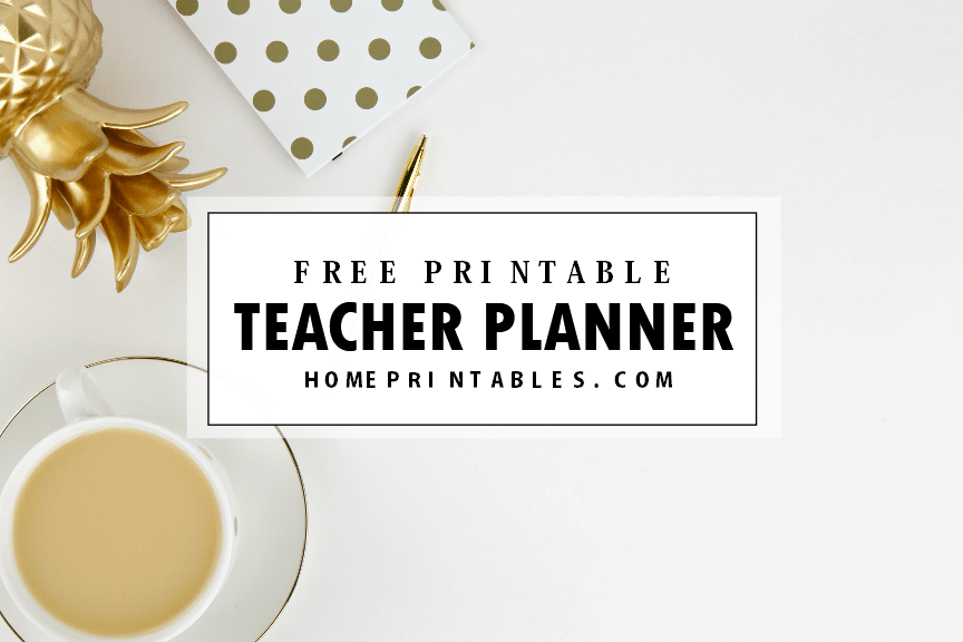 Free Teacher Planner Printables: 35 Organizing Sheets!