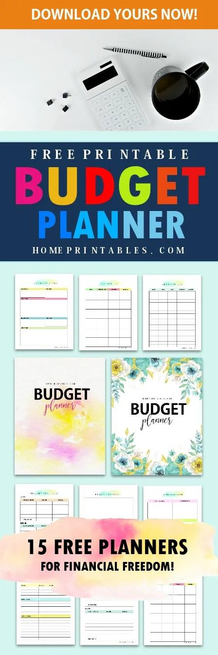 free printable budget binder 2018
