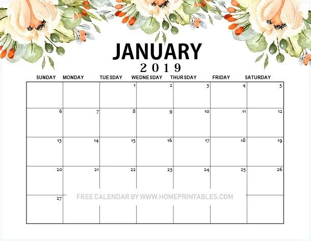 january-2019-calendar-printable-beautiful-floral