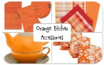 Orange Kitchen Accessories