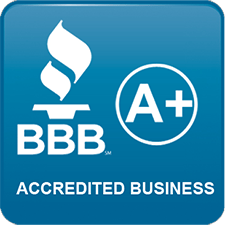 BBB A+ Accredited Business Click to Verify Logo