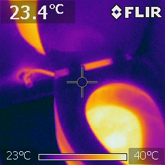 Toilet supplied with warm water