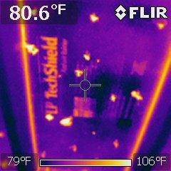 Engineered roof decking keeps attic cooler