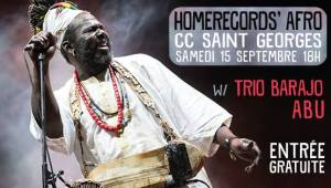 Homerecords' AFRO w/ Baba Sissoko @ Rue Albert 1er 4470 Saint-Georges-s/Meuse | Wallonie | Belgique