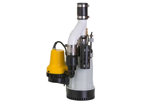 Sump Pump with Emergency Backup Pump