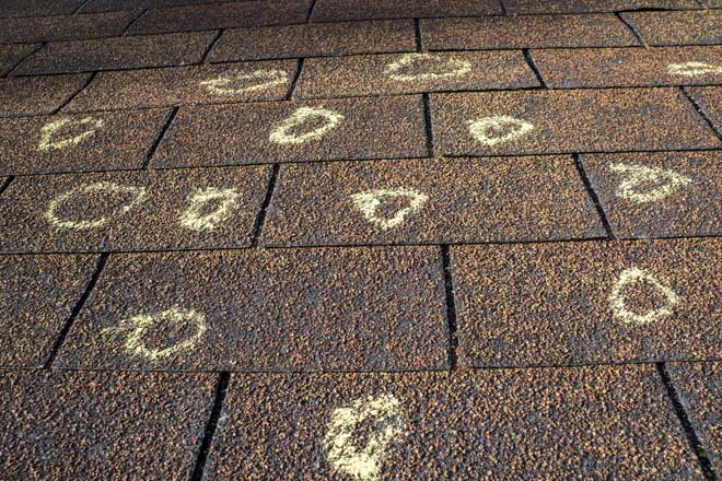The Homeowner S Guide To Hail Roof Damage