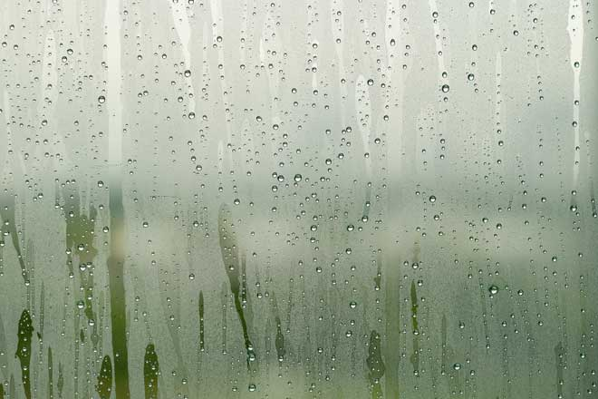 Close Up of Condensation