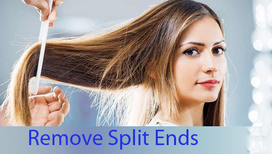 How to Remove Split Ends