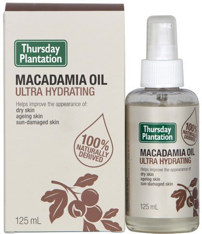 Macadamia oil uses for dry curly hair