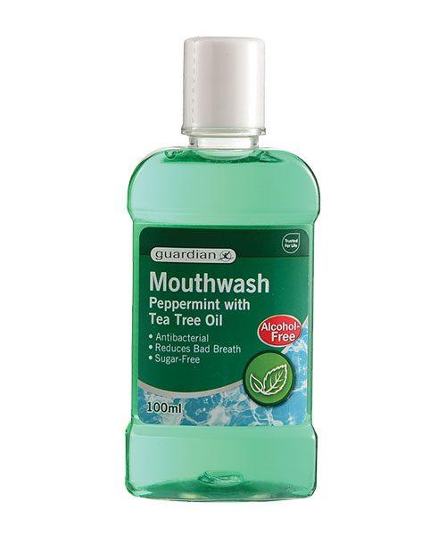 Peppermint mouthwash