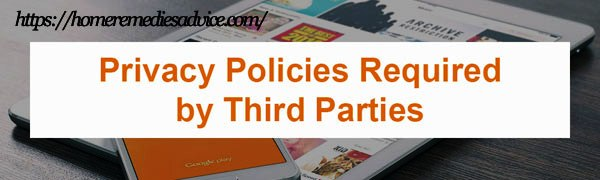Third Pary Privacy Policies