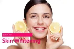 Lemon For Skin Whitening