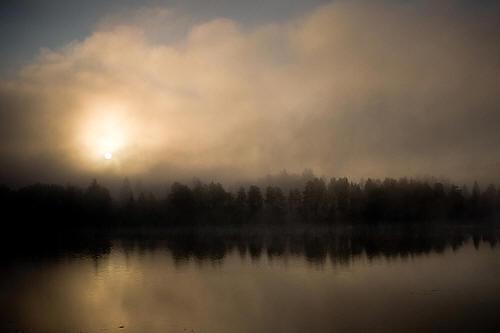Maisemakuva: aamun valoa I