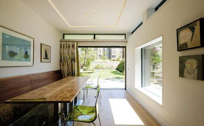 Linking the garden to the house and opening up the interior to bring in more light