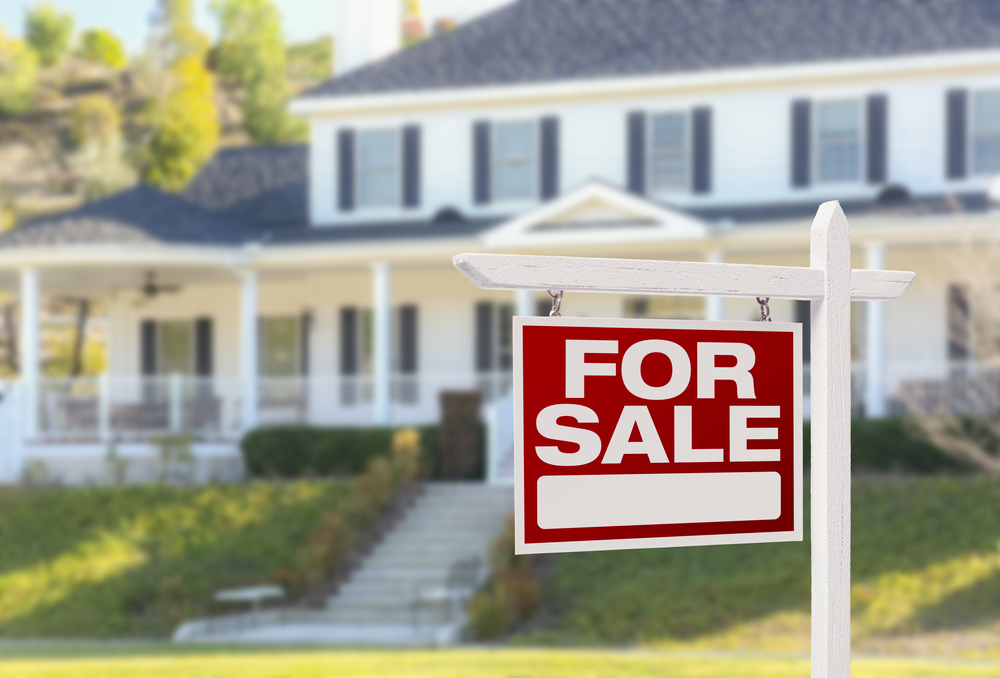 home-for-sale-stock-image