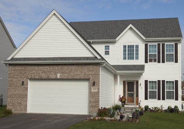 chicago home buildes - Home model Savanna Elev A - Exterior