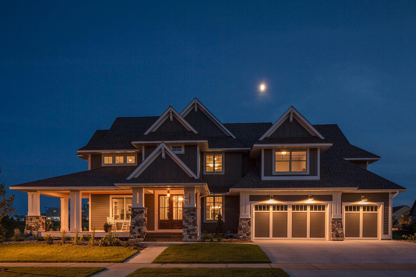 Custom Home Exteriors Custom Home Builders Amp New Home