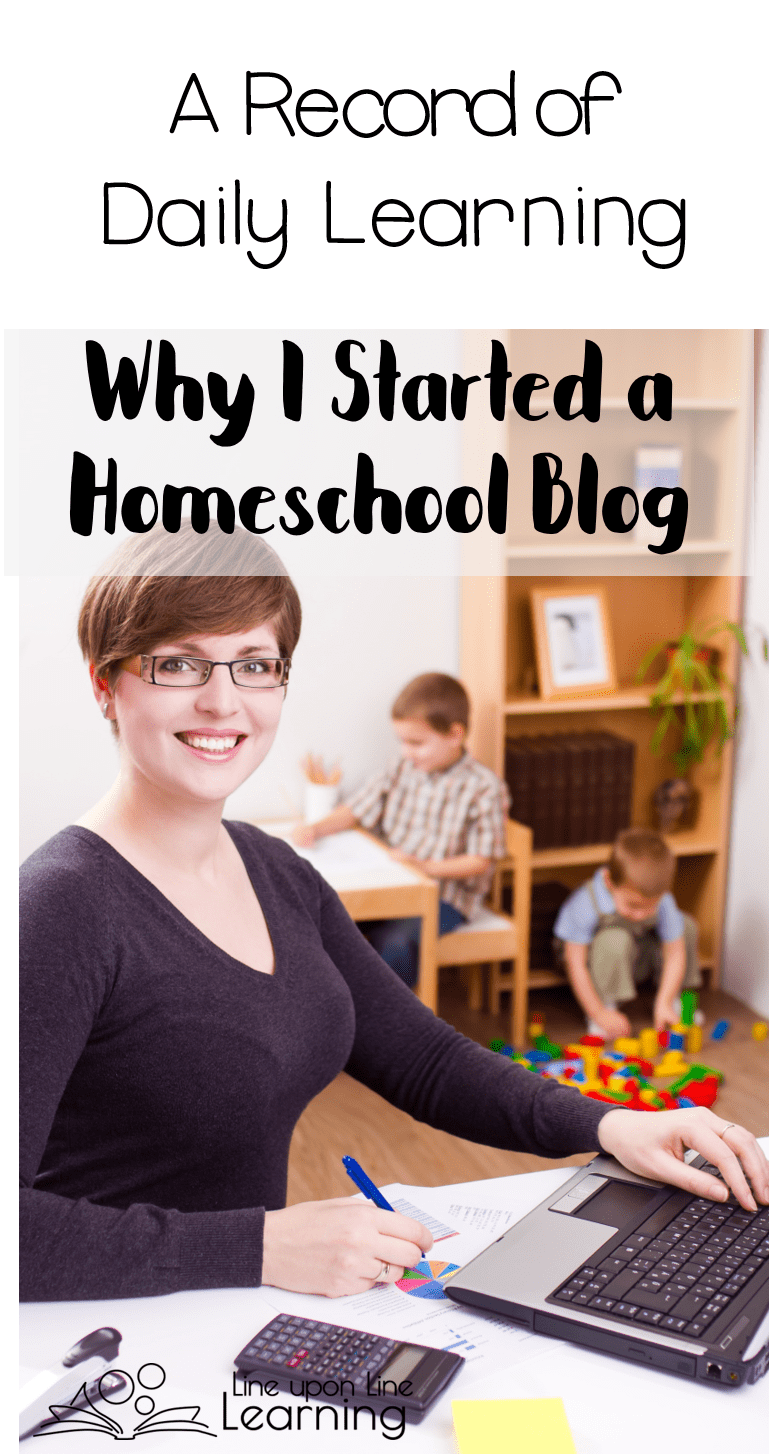 I started a homeschool blog to keep a record of our daily learning in our homeschool. I hope our journey inspires you on your!