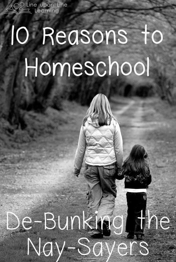 10reasons to homeschool