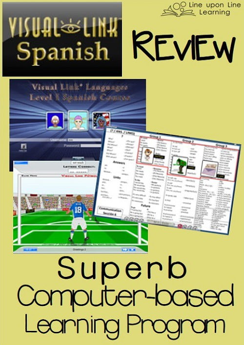 visual link spanish review