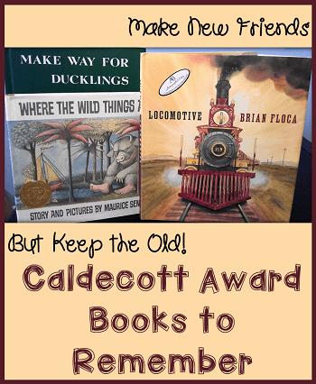 caldecott award books to remember