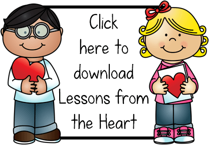 lessons from the heart button