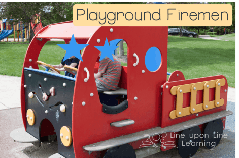 playground firemen