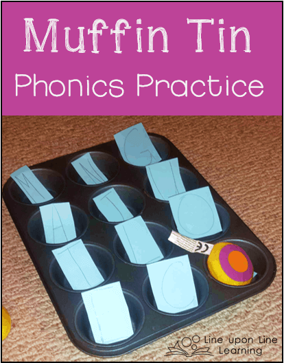 muffin tin phonics