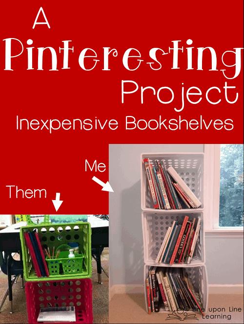 pinteresting bookshelves