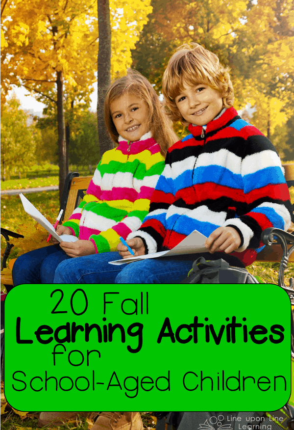 learning activities for school aged children