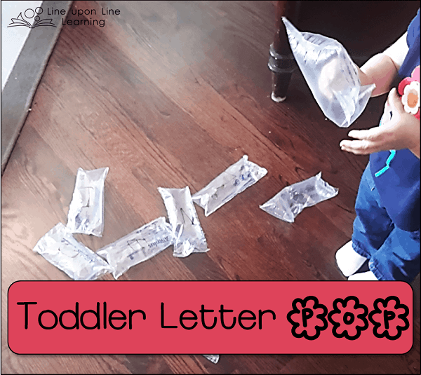 toddler letter pop