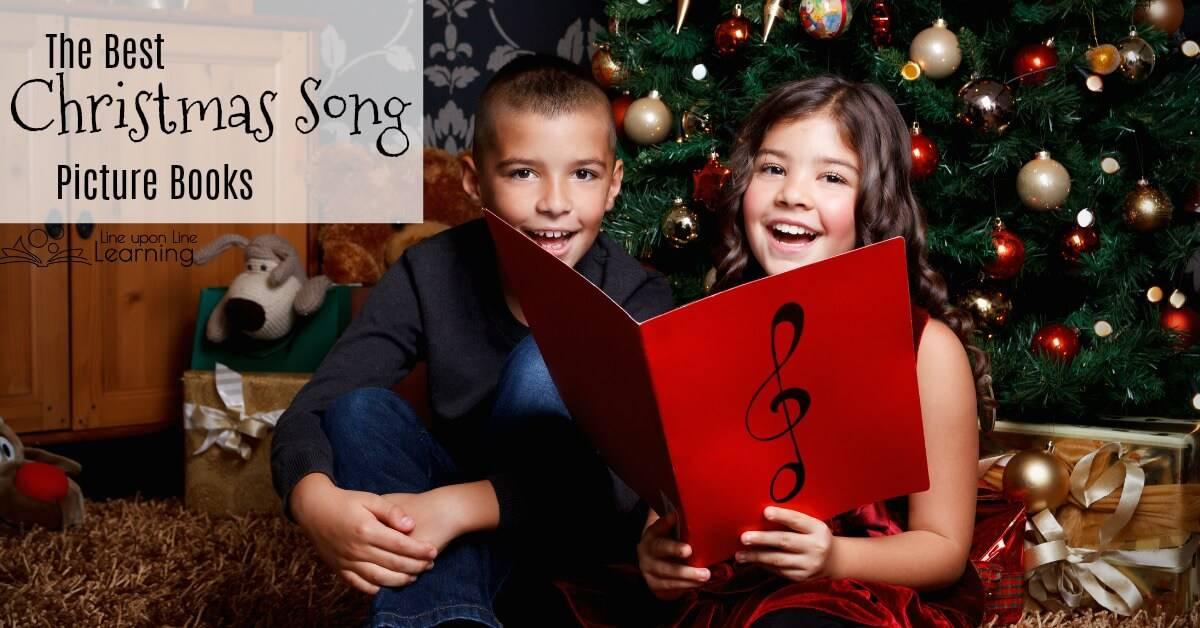Here are some of my favorite Christmas song picture books to enjoy during the upcoming holiday season.