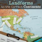 Matching Global Landforms To Continents Line Upon Line Learning