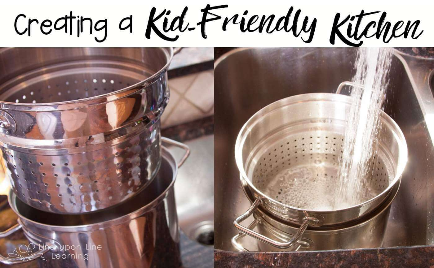 By having kitchen tools that make things easier for my 8-year-old son to do the cooking on his own, my son is more excited to help out in the kitchen.
