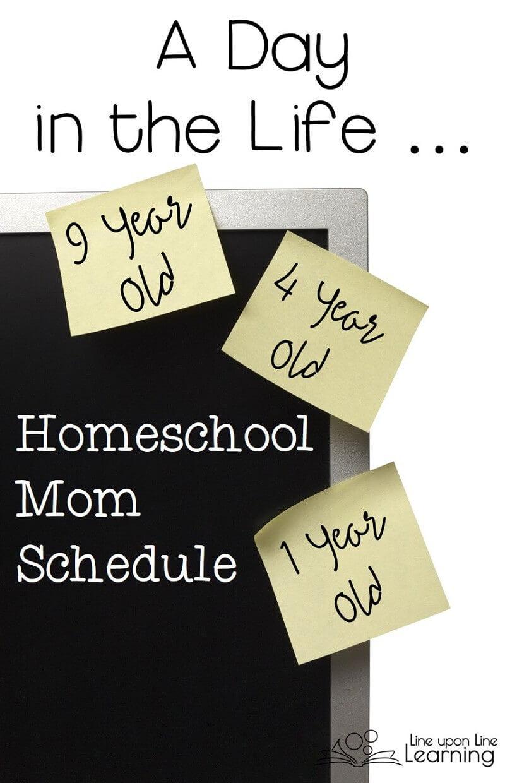 A Homeschool Mom Schedule is Not for Wimps