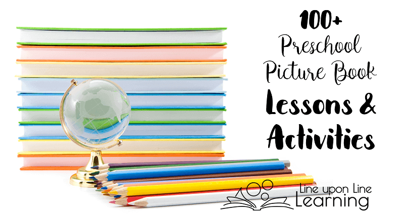 Learn about the world around you by using some of these preschool picture book lessons with your young students!