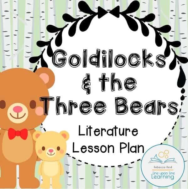 Goldilocks Lesson plans COVER