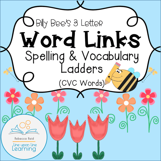 cvc word links cover