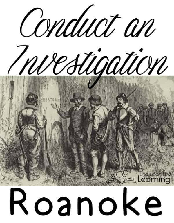Even young children can learn about the early American settlements by visiting some primary sources and investigating the disappearance of the Roanoke colony.