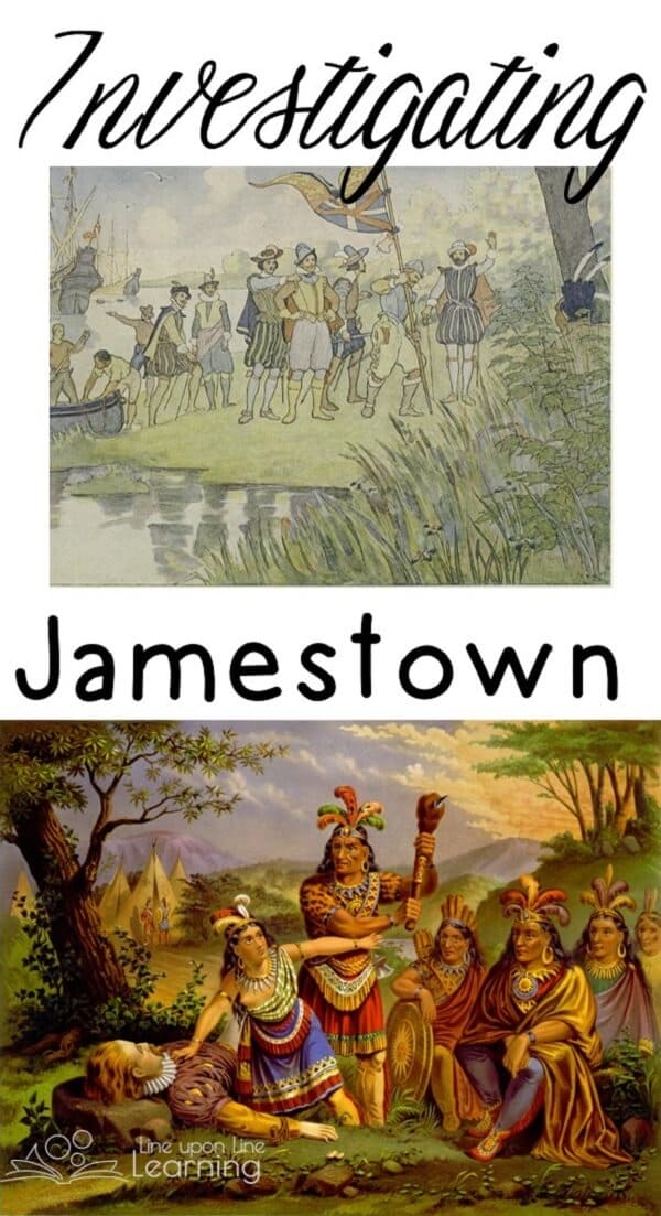 Investigating Jamestown: learn about the hows and whys of why colonists came to Jamestown with these book lists and hands-on ideas.