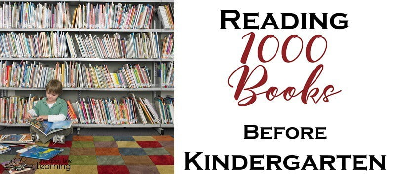 "It may sound overwhelming to read 1000 books before kindergarten, but it becomes a lot of fun and you will be amazed by how ""literate"" your children will be! Give them a head start and read aloud every day."