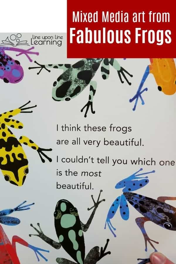Gorgeous art and bouncy text kept my kindergartner interested. Fabulous Frogs was a perfect jumping off point for learning more about frogs this spring! Great for our homeschool curriculum.